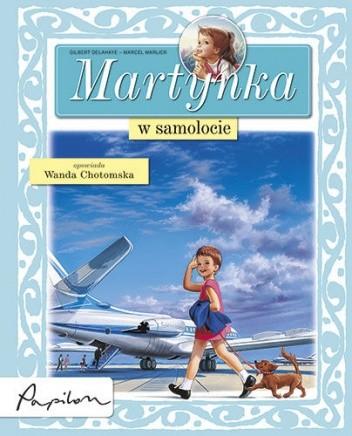Okładka książki Martynka w samolocie
