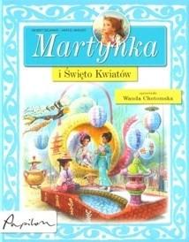 Okładka książki Martynka i Święto Kwiatów.
