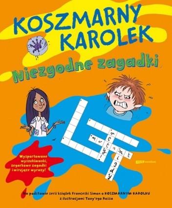Okładka książki Koszmarny Karolek. Niezgodne zagadki