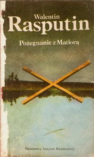 Okładka książki Pożegnanie z Matiorą