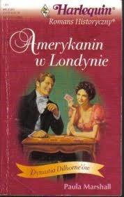 Okładka książki Amerykanin w Londynie