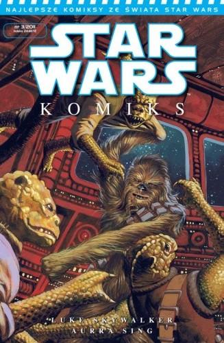 Okładka książki Star Wars Komiks 3/2011