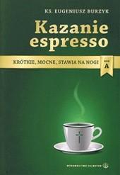 Okładka książki Kazanie espresso