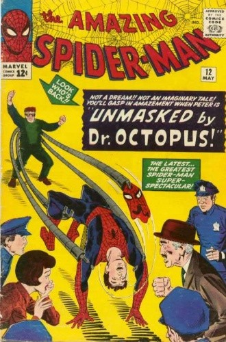 Okładka książki Amazing Spider-Man - #012 - Unmasked by Dr. Octopus!