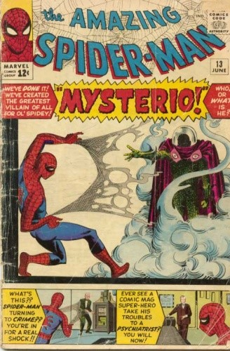 Okładka książki Amazing Spider-Man - #013 - The Menace of... Mysterio!
