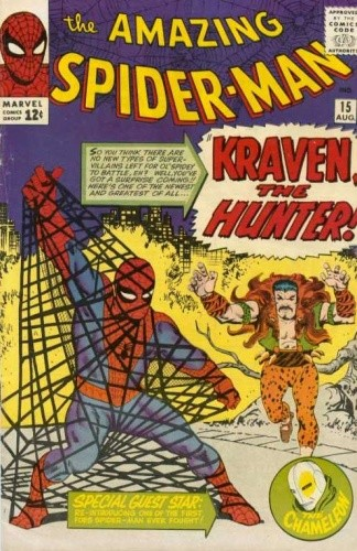 Okładka książki Amazing Spider-Man - #015 -Kraven the Hunter!