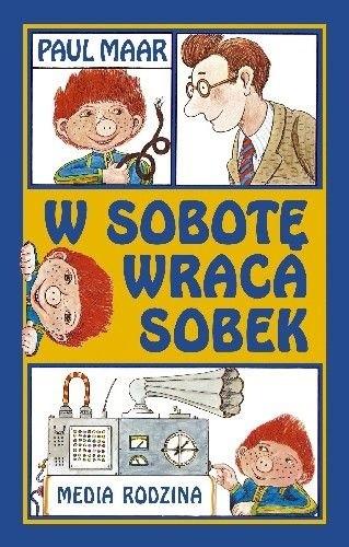 Okładka książki W sobotę wraca Sobek