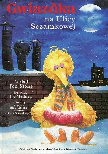Okładka książki Gwiazdka na Ulicy Sezamkowej