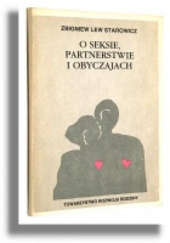 Okładka książki O seksie, partnerstwie i obyczajach