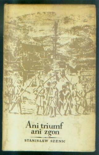 Okładka książki Ani triumf, ani zgon