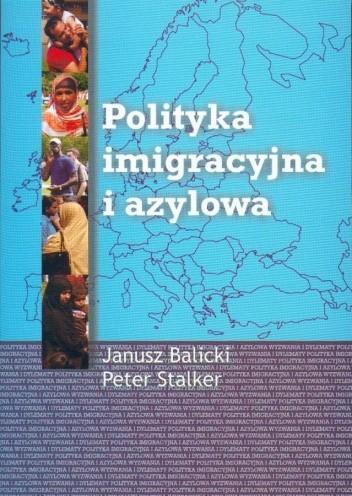 Okładka książki Polityka imigracyjna i azylowa