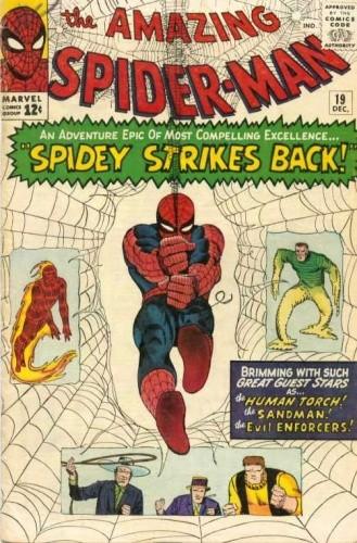 Okładka książki Amazing Spider-Man - #019 - Spidey Strikes Back!