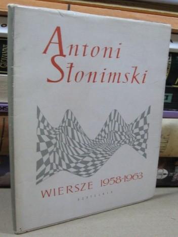 Okładka książki Wiersze 1958-1963