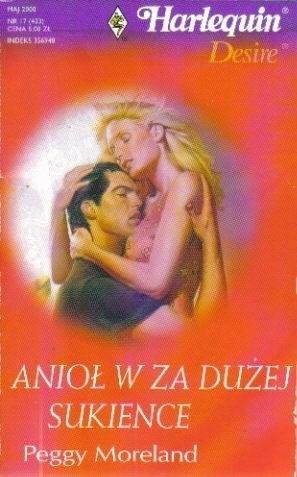 Okładka książki Anioł w za dużej sukience