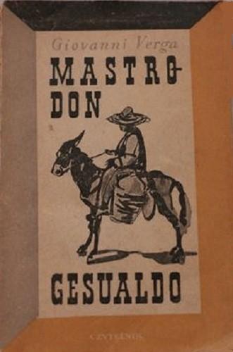 Okładka książki Mastro-Don Gesualdo