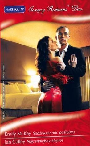 Okładka książki Spóźniona noc poślubna. Najcenniejszy klejnot