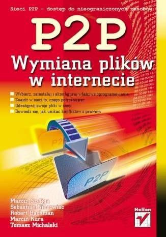 Okładka książki P2P. Wymiana plików w internecie