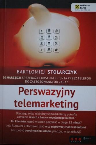 Okładka książki Perswazyjny telemarketing