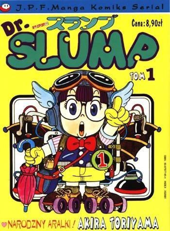 Okładka książki Dr. Slump tom 1