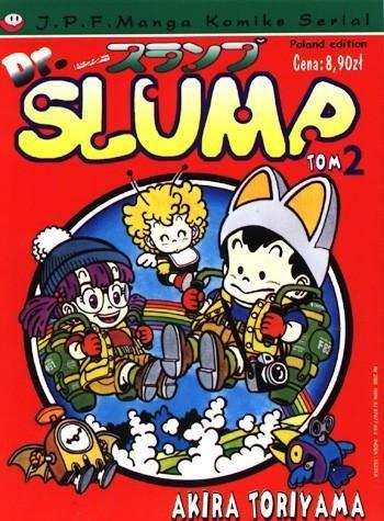 Okładka książki Dr. Slump tom 2