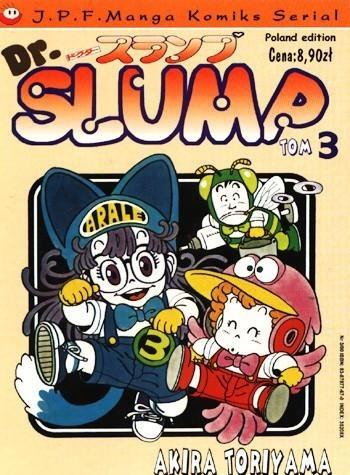 Okładka książki Dr. Slump tom 3