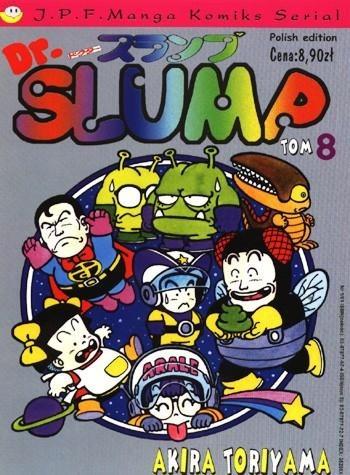 Okładka książki Dr. Slump tom 8