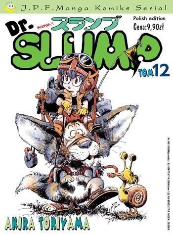 Okładka książki Dr. Slump tom 12