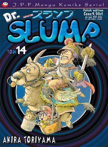 Okładka książki Dr. Slump tom 14