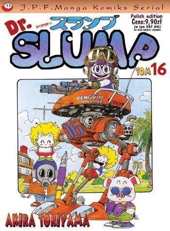 Okładka książki Dr. Slump tom 16