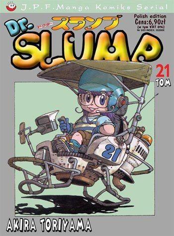 Okładka książki Dr. Slump tom 21