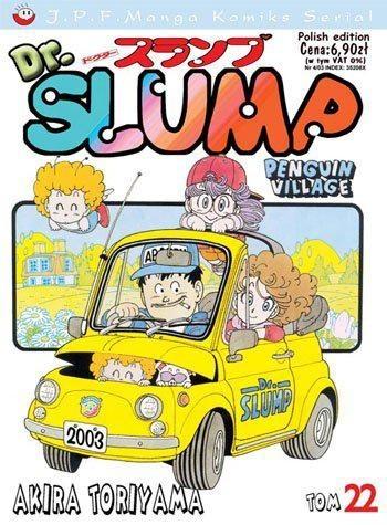 Okładka książki Dr. Slump tom 22