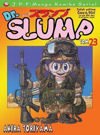 Okładka książki Dr. Slump tom 23