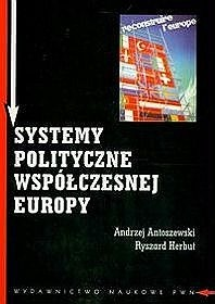 Okładka książki Systemy polityczne współczesnej Europy