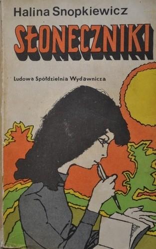 Okładka książki Słoneczniki