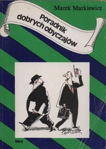 Okładka książki Poradnik dobrych obyczajów