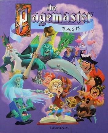 Okładka książki The Pagemaster: baśń