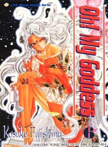 Okładka książki Oh! My Goddess. Tom 6
