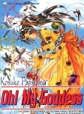Okładka książki Oh! My Goddess. Tom 7