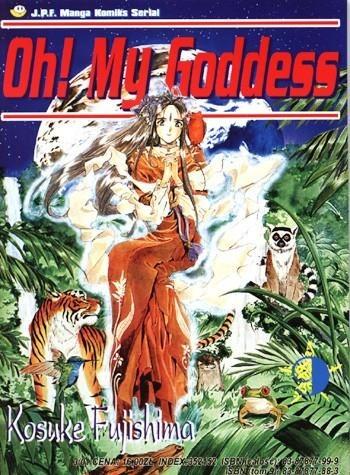 Okładka książki Oh! My Goddess. Tom 9