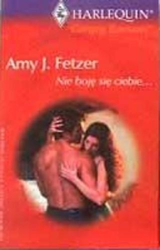 Okładka książki Nie boję się ciebie...