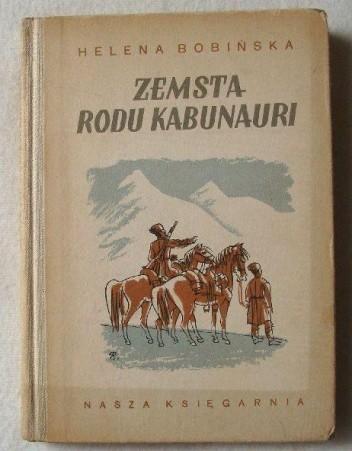 Okładka książki Zemsta rodu Kabunauri