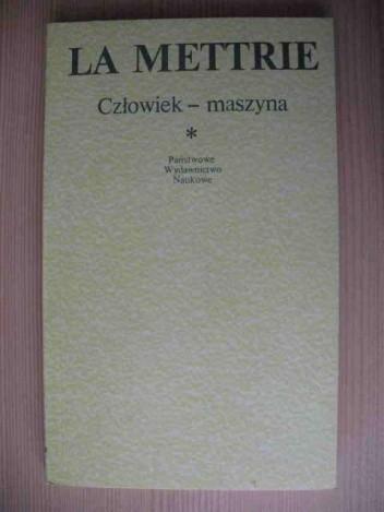 Okładka książki Człowiek-maszyna