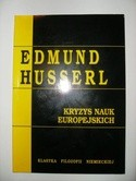 Okładka książki Kryzys nauk europejskich i fenomenologia transcendentalna