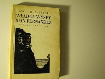 Okładka książki Władca wyspy Juan Fernandez