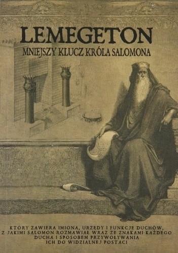 Okładka książki Lemegeton, Mniejszy Klucz Króla Salomona