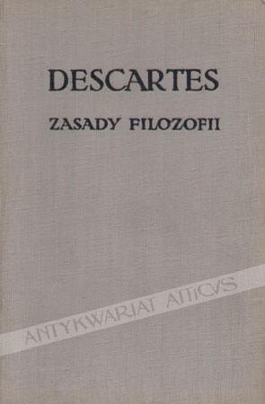 Okładka książki Zasady filozofii