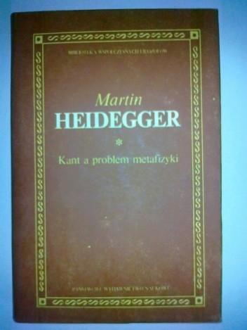 Okładka książki Kant a problem metafizyki