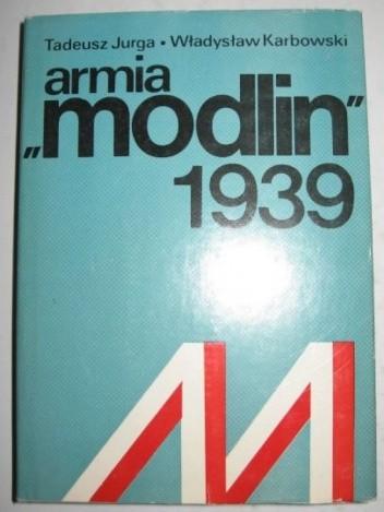 Okładka książki Armia Modlin 1939