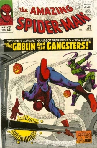 Okładka książki Amazing Spider-Man - #023 - The Goblin and the Gangsters