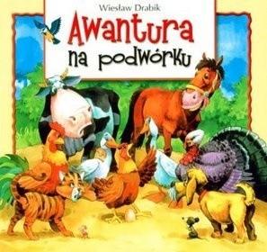 Okładka książki Awantura na podwórku
